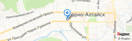 Ваш риэлтер на карте Горно-Алтайска