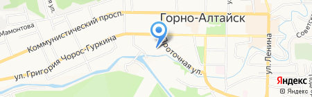 Детский сад №7 на карте Горно-Алтайска