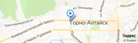 Свадьба Алтай на карте Горно-Алтайска