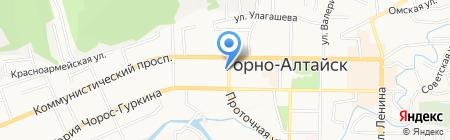 Империя спорта на карте Горно-Алтайска