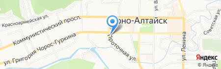 Республиканский пчелоцентр на карте Горно-Алтайска