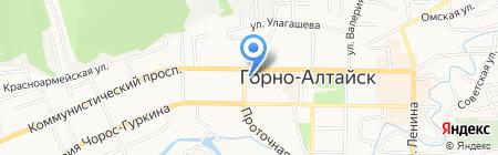 Республиканское отделение Общероссийской общественной организации союза пенсионеров России по Республике Алтай на карте Горно-Алтайска