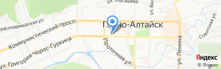 Школьная форма на карте Горно-Алтайска
