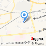 Металлобаза на карте Гурьевска