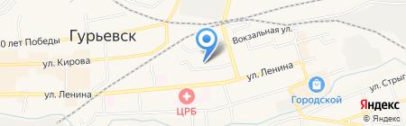 Детский сад №18 Петушок на карте Гурьевска