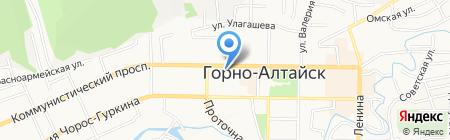 Сити СПОРТ на карте Горно-Алтайска