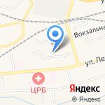 Петушок на карте Гурьевска