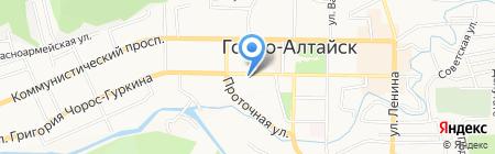 КБ Майма на карте Горно-Алтайска