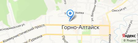 Моя семья на карте Горно-Алтайска