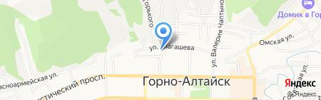 Soft-logic на карте Горно-Алтайска