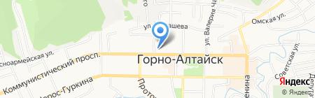 АКБ Ноосфера на карте Горно-Алтайска