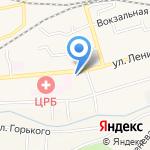Копирка на карте Гурьевска