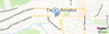 АвтоюрисТ на карте Горно-Алтайска