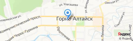 Дезинфекционная станция на карте Горно-Алтайска