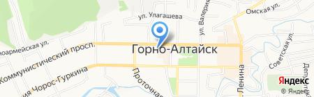 Subway на карте Горно-Алтайска