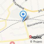 Фруктовый сад на карте Гурьевска