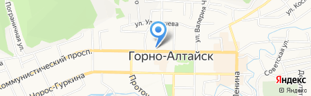 Стильные детки на карте Горно-Алтайска