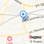 Темп на карте Гурьевска