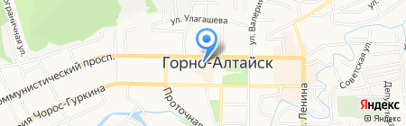 Банкомат КБ Эл Банк-Алтай на карте Горно-Алтайска