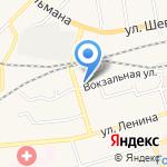 Булавочка на карте Гурьевска