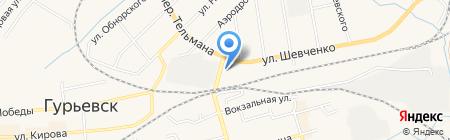 Автоювелир на карте Гурьевска