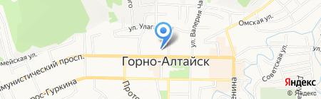 Финансовое Управление Администрации г. Горно-Алтайска на карте Горно-Алтайска