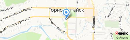 Государственное Собрание Эл Курултай Республики Алтай на карте Горно-Алтайска