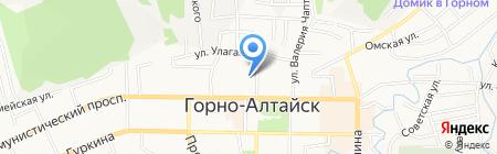 Общественная палата Республики Алтай на карте Горно-Алтайска