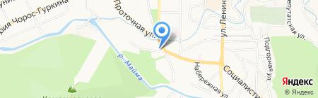 СТРОИТЕЛЬНЫЕ РЕШЕНИЯ на карте Горно-Алтайска