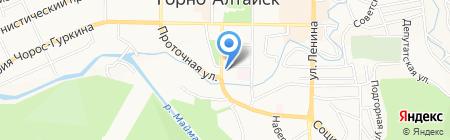 КанцМаркет на карте Горно-Алтайска