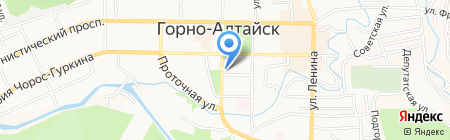 Фармация на карте Горно-Алтайска