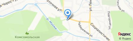 Республиканский учебно-методический центр охраны труда на карте Горно-Алтайска