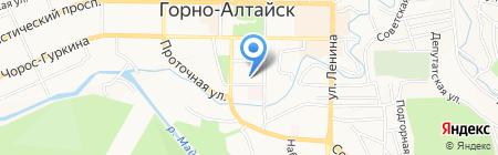 Прокуратура Республики Алтай на карте Горно-Алтайска