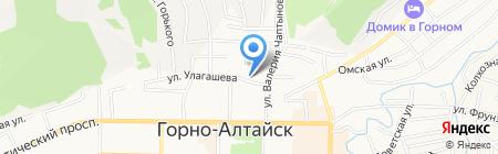 Куми Куми на карте Горно-Алтайска