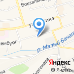 Беловское государственное ПАТП Кемеровской области на карте Гурьевска