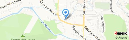 Горно-Алтайский учебный центр подготовки кадров ЖКХ на карте Горно-Алтайска