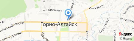 Компьютерный центр на карте Горно-Алтайска