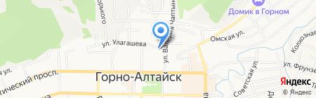 Элемент на карте Горно-Алтайска