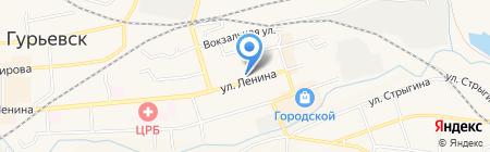 Мастерица на карте Гурьевска