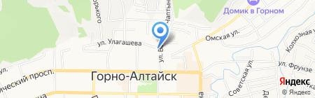 Риэлт-Лидер на карте Горно-Алтайска