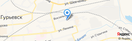 Молодежный центр на карте Гурьевска