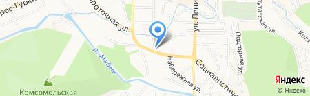 Кожно-венерологический диспансер на карте Горно-Алтайска