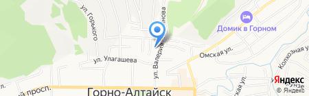 АРЛиК на карте Горно-Алтайска