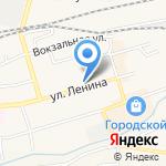 Глобус+ на карте Гурьевска