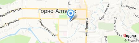 Отделение по опеке и попечительству на карте Горно-Алтайска