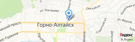 Русская пиротехника на карте Горно-Алтайска