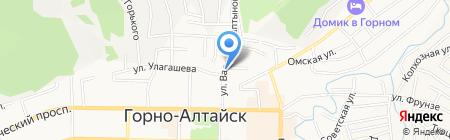 Исполком-Курее КАНГА на карте Горно-Алтайска