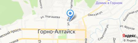 Многофункциональный центр обеспечения предоставления государственных и муниципальных услуг на карте Горно-Алтайска