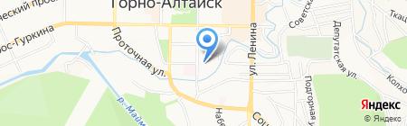 Клинико-диагностическая лаборатория на карте Горно-Алтайска