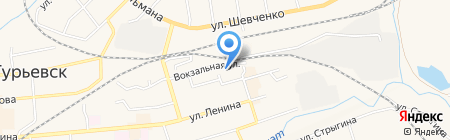 Олимп на карте Гурьевска
